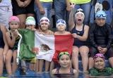 El Delfín con nueva marca de participación en 'La Clase de Natación Más Grande del Mundo'