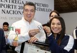 Entrega Rutilio Escandón Premio Estatal del Deporte 2019_3