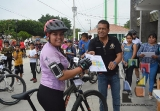Gobierno de Jiquipilas realizó Rodada Ciclista
