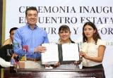 Inaugura Rutilio Escandón Encuentro Académico, Cultural y Deportivo 2019 del Cobach_3
