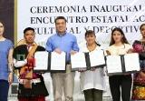 Inaugura Rutilio Escandón Encuentro Académico, Cultural y Deportivo 2019 del Cobach_4