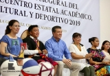 Inaugura Rutilio Escandón Encuentro Académico, Cultural y Deportivo 2019 del Cobach_7