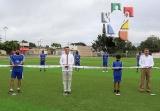 Inaugura Rutilio Escandón rehabilitación de la Unidad Deportiva de Berriozábal_2