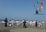 Moksha Kai realizó clase especial en Puerto Arista_12