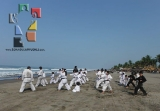 Moksha Kai realizó clase especial en Puerto Arista_13