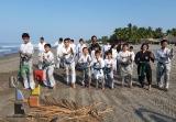 Moksha Kai realizó clase especial en Puerto Arista_3