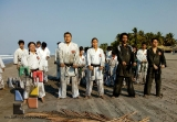 Moksha Kai realizó clase especial en Puerto Arista_5