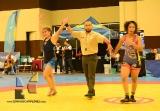 Oro y dos bronces para la lucha femenil en la Olimpiada Nacional_1
