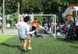 Universidad Pablo Guardado Chávez mejora su infraestructura deportiva